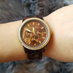 MK Tortoise Watch